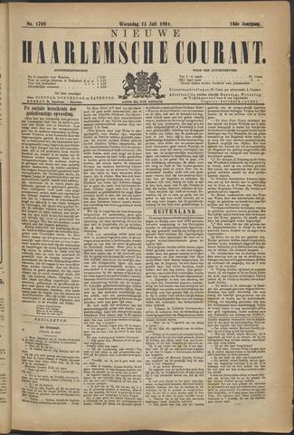 Nieuwe Haarlemsche Courant 1891-07-15