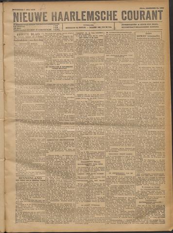 Nieuwe Haarlemsche Courant 1920-07-07