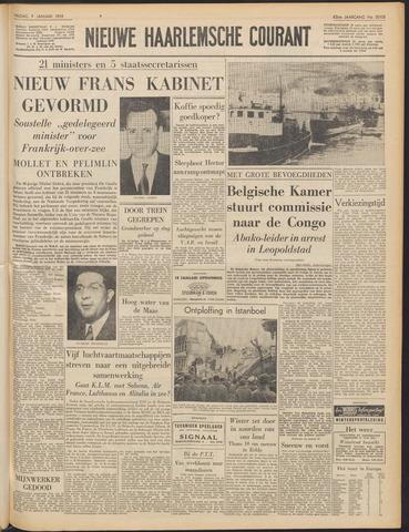Nieuwe Haarlemsche Courant 1959-01-09