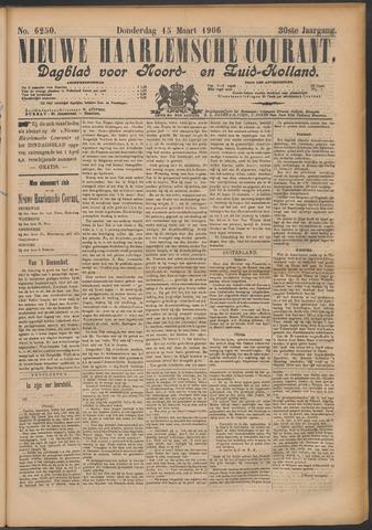 Nieuwe Haarlemsche Courant 1906-03-15