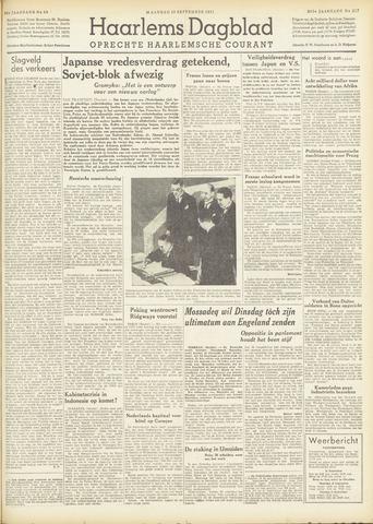 Haarlem's Dagblad 1951-09-10