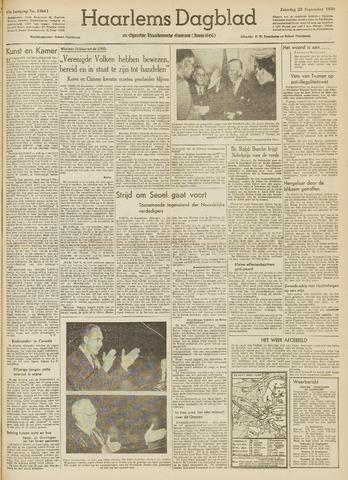 Haarlem's Dagblad 1950-09-23