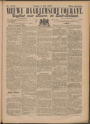 Nieuwe Haarlemsche Courant 1903-07-03