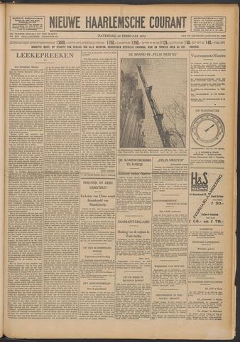 Nieuwe Haarlemsche Courant 1932-02-20