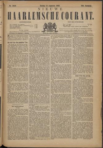 Nieuwe Haarlemsche Courant 1893-08-13