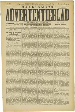 Haarlemsch Advertentieblad 1898-10-01
