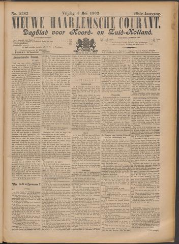 Nieuwe Haarlemsche Courant 1903-05-01