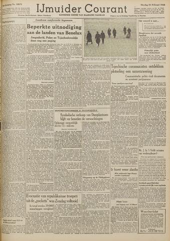 IJmuider Courant 1948-02-24