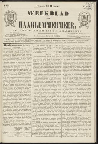 Weekblad van Haarlemmermeer 1861-10-18