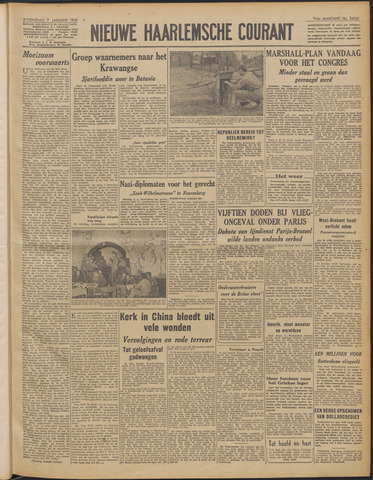 Nieuwe Haarlemsche Courant 1948-01-07
