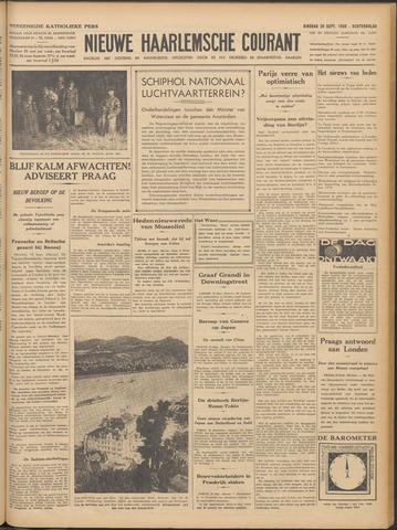 Nieuwe Haarlemsche Courant 1938-09-20