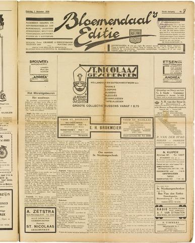 Bloemendaal's Editie 1928-12-01