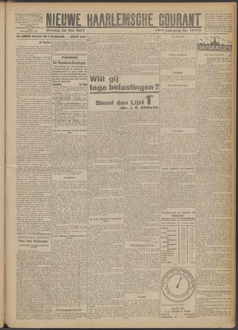Nieuwe Haarlemsche Courant 1923-05-22
