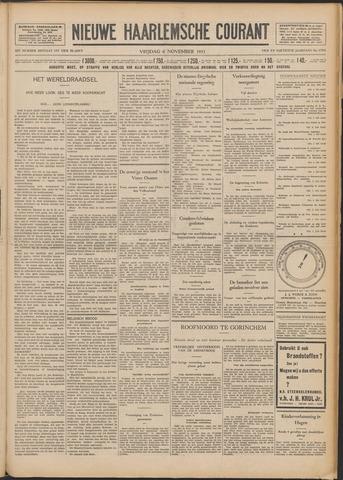 Nieuwe Haarlemsche Courant 1931-11-06