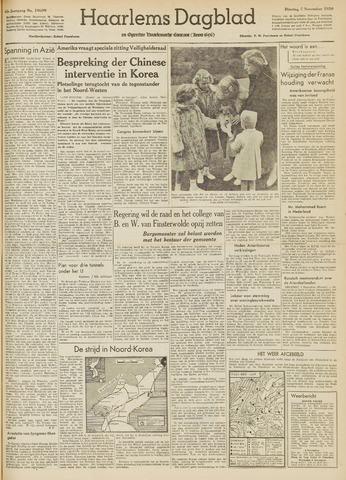 Haarlem's Dagblad 1950-11-07