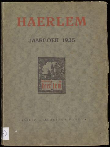Jaarverslagen en Jaarboeken Vereniging Haerlem 1935