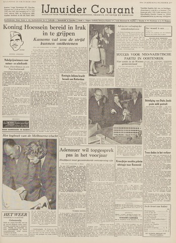 IJmuider Courant 1959-10-26