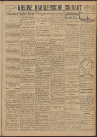 Nieuwe Haarlemsche Courant 1923-02-14