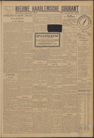 Nieuwe Haarlemsche Courant 1923-09-05