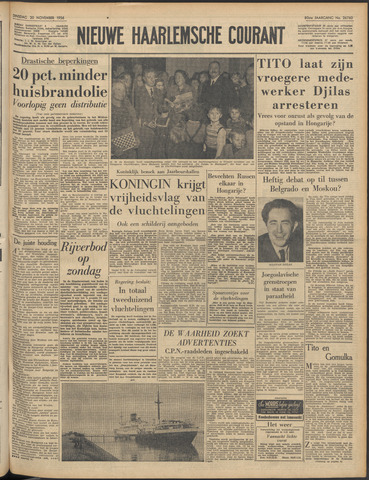 Nieuwe Haarlemsche Courant 1956-11-20