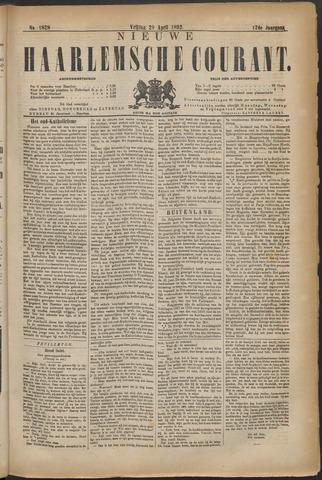 Nieuwe Haarlemsche Courant 1892-04-29
