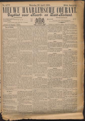Nieuwe Haarlemsche Courant 1901-04-29