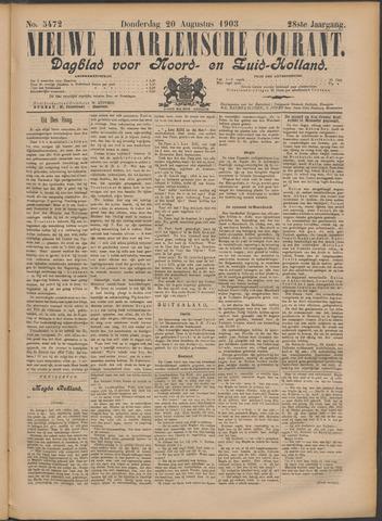 Nieuwe Haarlemsche Courant 1903-08-20
