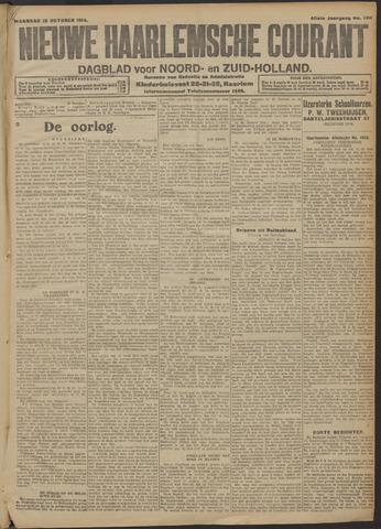 Nieuwe Haarlemsche Courant 1914-10-26