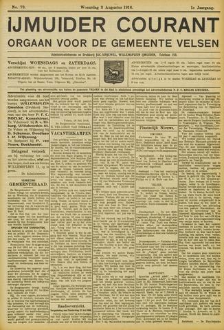 IJmuider Courant 1916-08-02