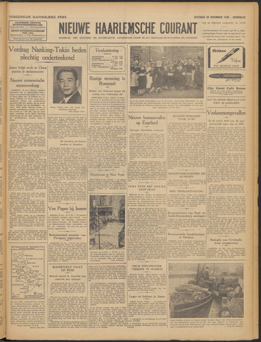 Nieuwe Haarlemsche Courant 1940-11-30