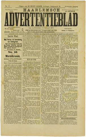Haarlemsch Advertentieblad 1895-02-09