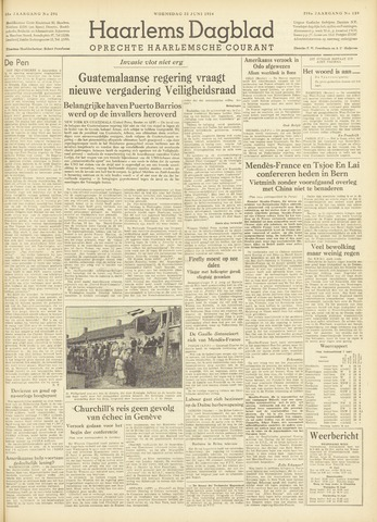 Haarlem's Dagblad 1954-06-23