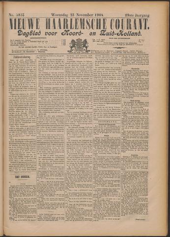 Nieuwe Haarlemsche Courant 1904-11-23