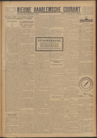 Nieuwe Haarlemsche Courant 1923-09-29