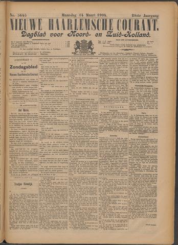 Nieuwe Haarlemsche Courant 1904-03-14