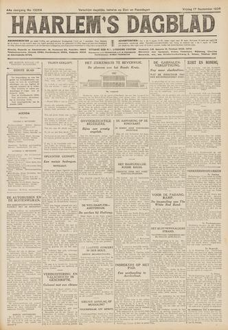 Haarlem's Dagblad 1926-09-17