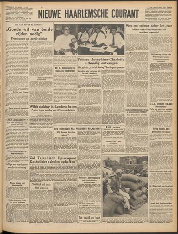Nieuwe Haarlemsche Courant 1949-04-12