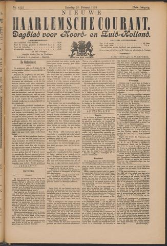 Nieuwe Haarlemsche Courant 1899-02-25