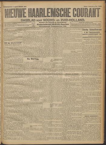 Nieuwe Haarlemsche Courant 1914-09-17