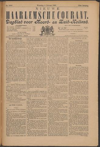 Nieuwe Haarlemsche Courant 1898-02-02