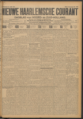 Nieuwe Haarlemsche Courant 1910-06-18