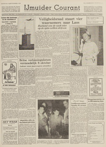 IJmuider Courant 1959-09-08