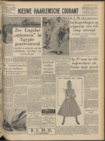 Nieuwe Haarlemsche Courant 1956-08-28