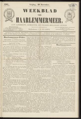 Weekblad van Haarlemmermeer 1861-11-29