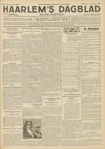 Haarlem's Dagblad 1935-01-24