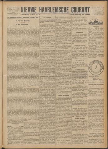 Nieuwe Haarlemsche Courant 1923-05-31