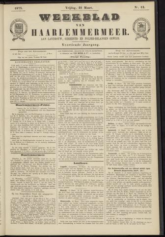 Weekblad van Haarlemmermeer 1873-03-21