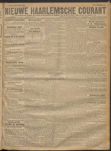 Nieuwe Haarlemsche Courant 1918-09-04