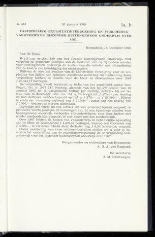 Raadsnotulen Heemstede 1969-01-30