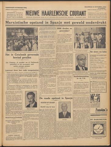 Nieuwe Haarlemsche Courant 1934-10-08